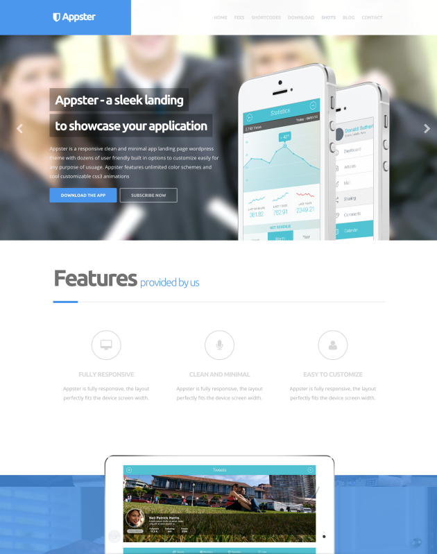 Appster-landing-page-theme