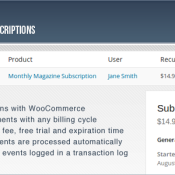 Subscriptio - A Hassle Free Way to Manage WooCommerce Subscriptions