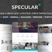 Reviewing the Specular WordPress Theme