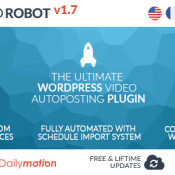 WP Video Robot: Add Videos To Your Site, Automatically