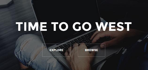 West: Agency Home Page WordPress Theme