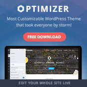 Optimizer Multi-purpose Theme Giveaway - 3 Licenses Up for Grabs