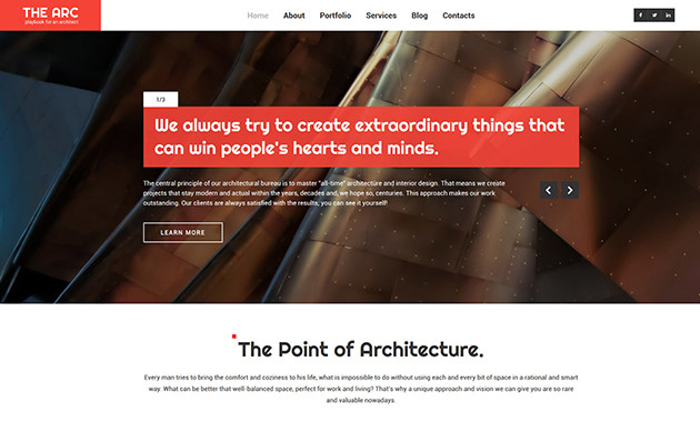 8. architecture wpml ready wordpress theme
