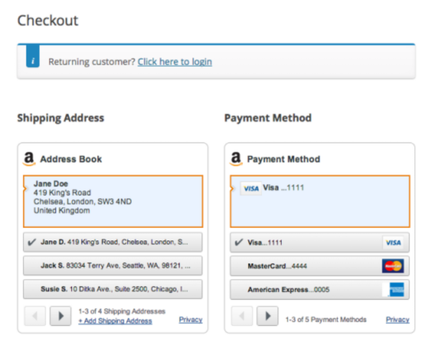 Amazon Payments Advanced