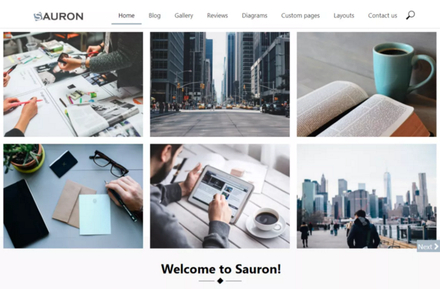 Sauron WordPress Theme