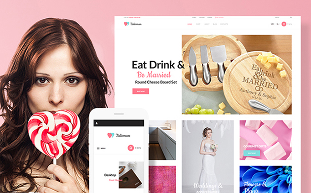 Talisman - Gifts Store Responsive WooCommerce Theme