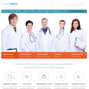 21 Amazing WordPress Health and Medical Themes