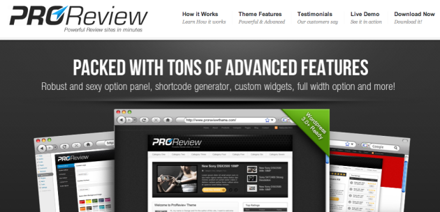 Best WordPress Review Theme   ProReviewTheme.com