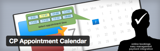 CP Appointment calendar scheduling reservations plugin