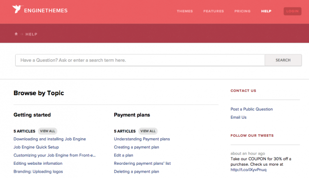 Engine Themes Documentation