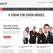 14 Corporate Responsive Themes for 2013