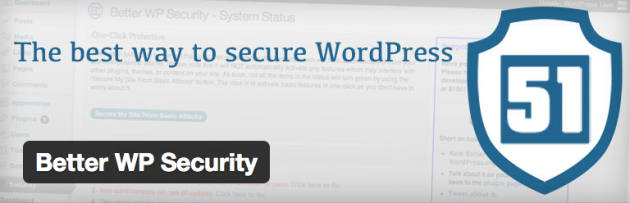 WordPress › Better WP Security « WordPress Plugins