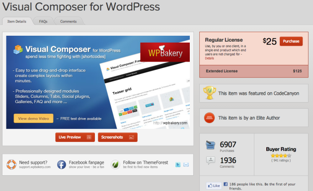 WordPress   Visual Composer for WordPress   CodeCanyon